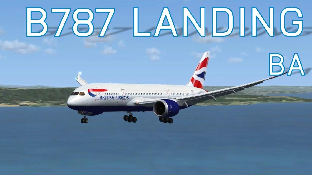 FSX British Airways 787-8 | The Aircraft to Airport Flight Show - Episode 3