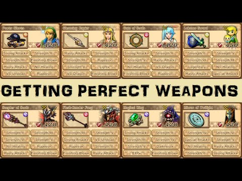 Hyrule Warriors Tricks Getting Perfect Weapons Wii U Only Youtube