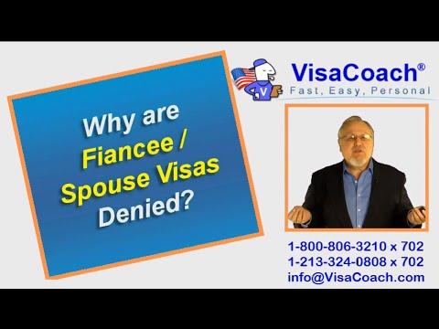 Denied Fiancee or Denied Spouse Visa: Why? Gen Faq 79