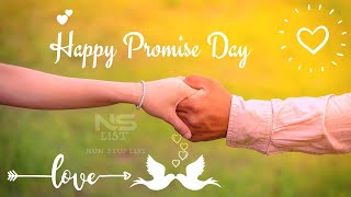 Promise Day Video Images Quotes Shayari Pic Messages SMS, Promise Day 2020, Promise Day Status