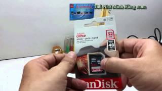 THẺ NHỚ SDHC SANDISK ULTRA 32G CLASS 10 48MB/S - Thẻ Nhớ Minh Hằng .com