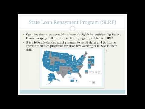 National Health Service Corps Loan Repayment Program webinar