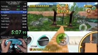 Super Monkey Ball 2 Expert Speedrun in 23:15 (Personal Best)