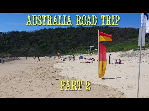 Australia Cross-Country Road Trip, Part 2 Christmas