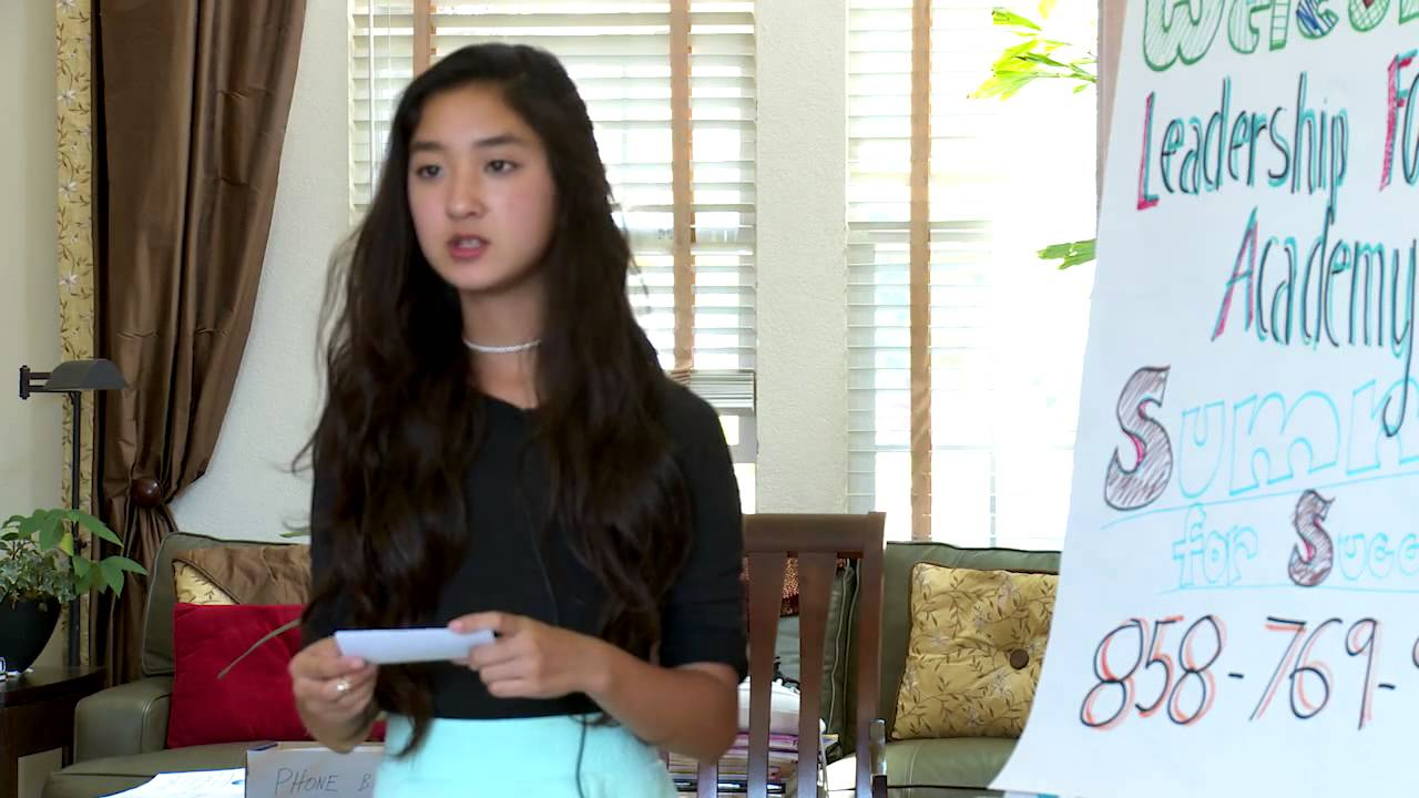 Leadership Foundation Academy - Ashley Thai of Mesa Verde Middle School in  San Diego, CA