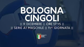 Serie A1M [11^]: Bologna - Cingoli 28-30