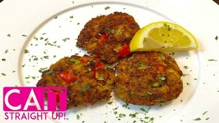 Crab Cakes Recipe From Scratch  Maryland Style  Cait Straight Up