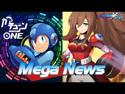 Mega Man X DiVE Makes Iris Another Playable, CAPTUNE Releases First Album + EXE Sound Box For Free!