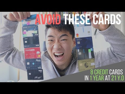 My BEST & WORST Credit Cards Of 2018.