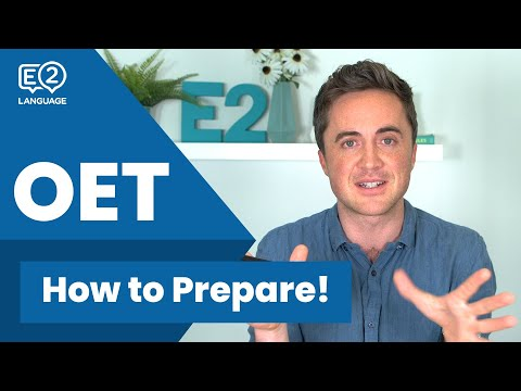 How to Prepare for OET!