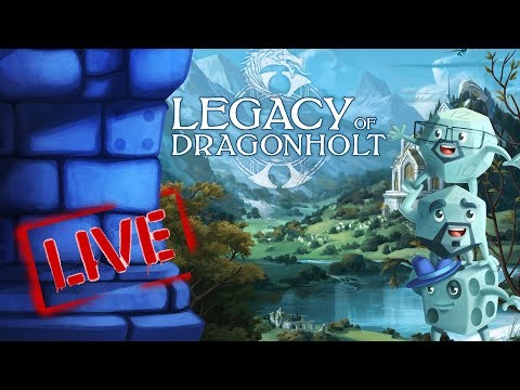 LIVE: Legacy of Dragonholt with Tom, Zee, and Sam!!