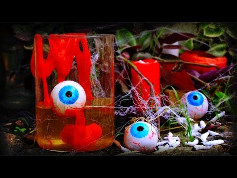 Thumbnail: DIY Halloween Eyeballs, Slime And Spider Web