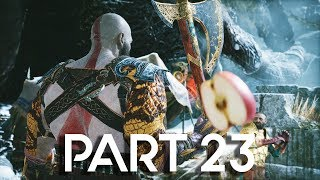 God of War 4 Walkthrough Part 23 - Apples - GOD OF WAR GAMEPLAY!! (PS4 PRO 60FPS)