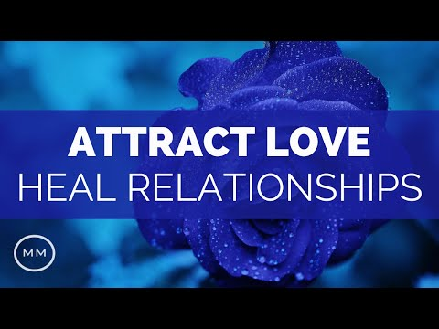 639 Hz - Attract Love / Heal Relationships - Kleem Sanskrit Mantra - Solfeggio Music
