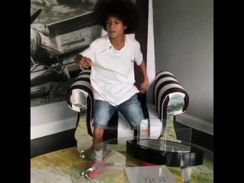 Mini Teo  Michael Jackson  Dont Care about Us  Bobby Shmurda Remix   @ItzFreemann @Kvng.khii