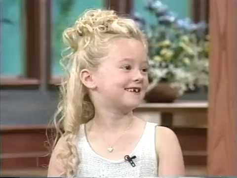 Madylin Sweetin interview 1997 Age 6