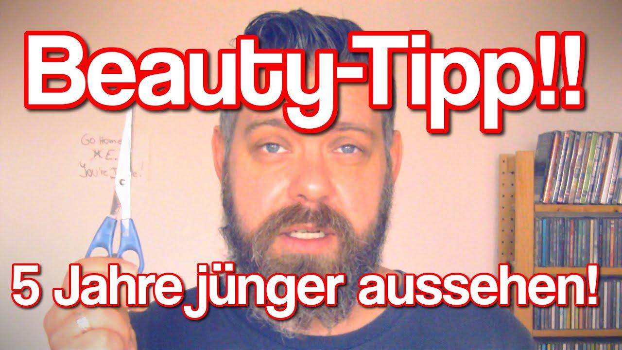 Beauty Tipp!! 5 Jahre Jünger Aussehen! YouTube