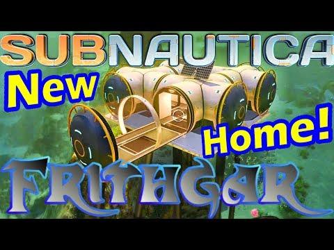 Let's Play Subnautica #4: Underwater Habitat!