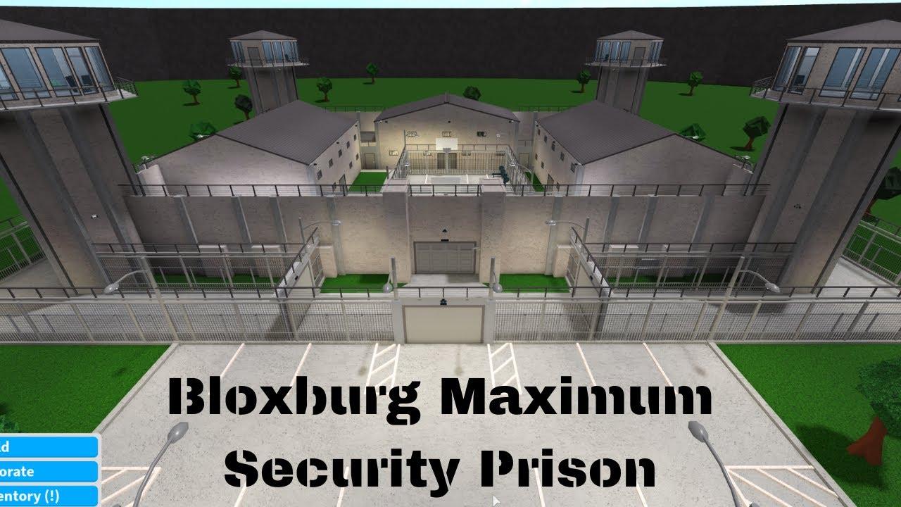 ROBLOX Bloxburg Maximum Security Prison YouTube