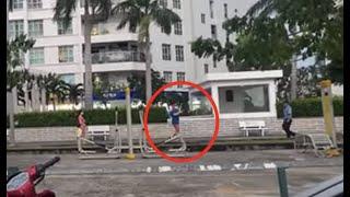CHUYỆN ĐÁNG SỢ chung cư Hoàng Anh Thanh Bình quận 7, người đàn ông lạ cản dân đến theo dõi