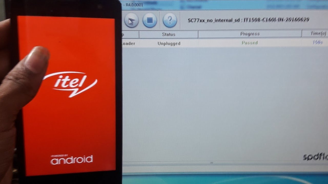 Itel 1508 flashing error solution by Shaan Technology