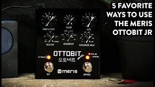 Meris Ottobit Jr Bitcrusher and Sequencer Demo