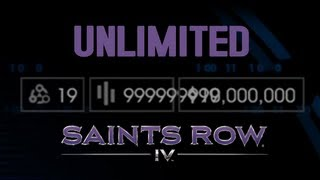 Saints Row 4 IV - Infinite / Unlimited Clusters & Cache / Money (WITHOUT CHEATS) [XBOX360/PS3]