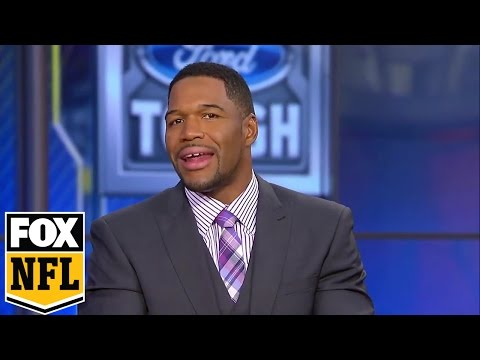 Luke Kuechly was crying after suffering a concussion -Strahan has a message for him | FOX NFL SUNDAY