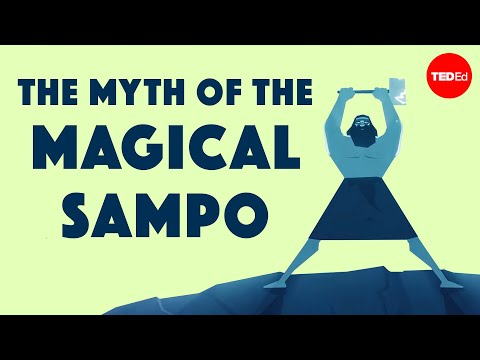 Video image: The myth of the Sampo— an infinite source of fortune and greed - Hanna-Ilona Härmävaara