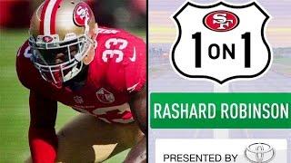 Rashard Robinson Breaks Down his Rookie Season