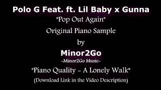 Polo G - Pop Out Again ft. Lil Baby, Gunna - Original Sample by Minor2Go