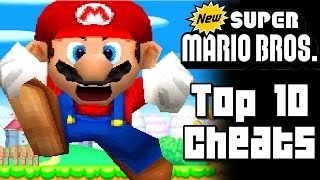 New Super Mario Bros TOP 10 CHEATS (DS)