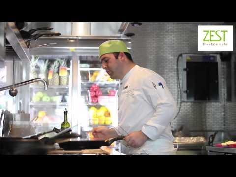 ZEST Lifestyle Café for the bright life gourmets!
