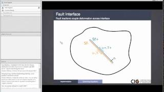 June 24 CDM2014 PyLithTutorial Friction introduction