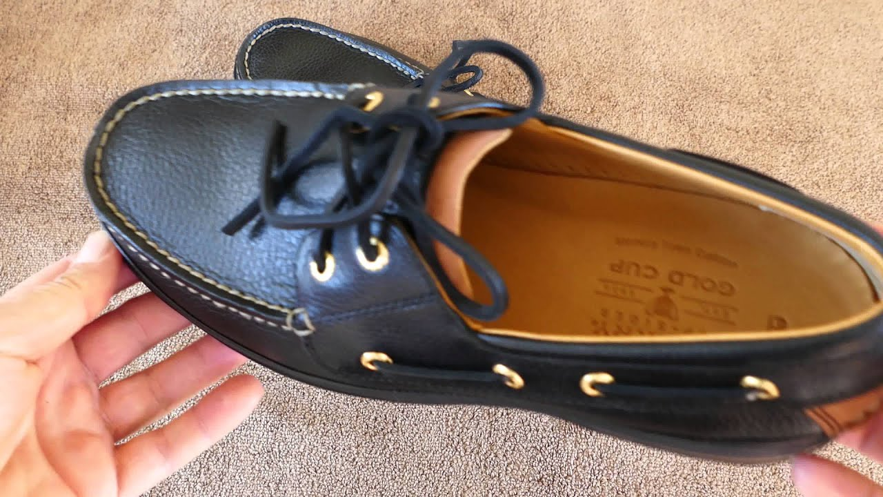 Sperry TopSider Gold Cup 2 Eye Boat