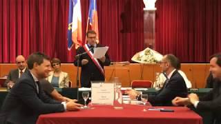 Discours de Geoffroy Boulard en tant que Maire du 17e arrondissement