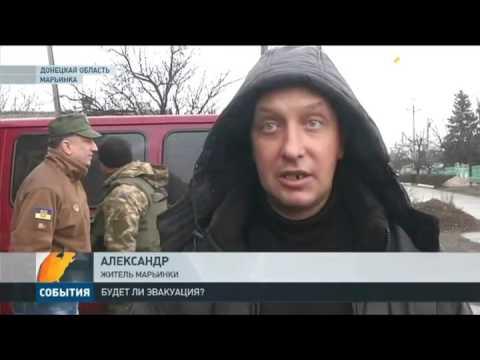 Волонтеры готовы эвакуировать детей и пожилых жителей Марьинки и Красногоровки