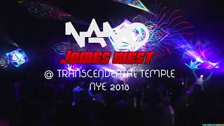 James West (Nano Records) @ Transcendental Temple NYE music and arts gathering 2018