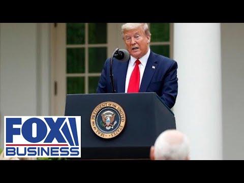 Trump gives update on coronavirus testing strategy