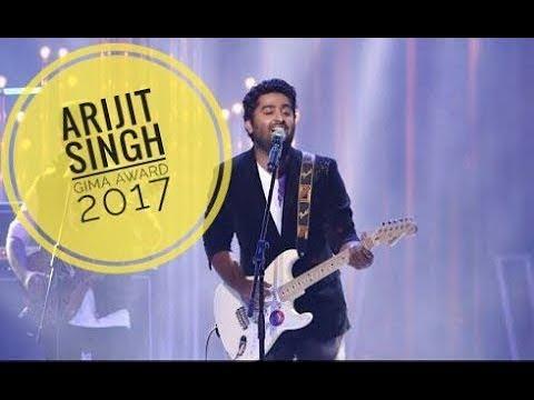Arijit Singh - Unplugged (Gima Award 2017 Live Mashup)