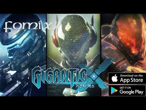 видео: gigantic x - первый взгляд, обзор (android ios)