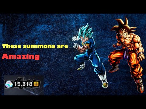 These are the best summons I have ever seen (Dragon ball legends second anniversary summons) from YouTube · Duration:  28 minutes 51 seconds