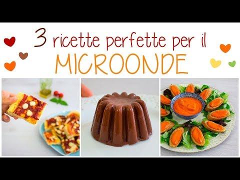 3 RICETTE e IDEE CON IL FORNO MICROONDE | CREMA DI PEPERONI, PIZZA e BUDINI AL CIOCCOLATO #AD thumbnail