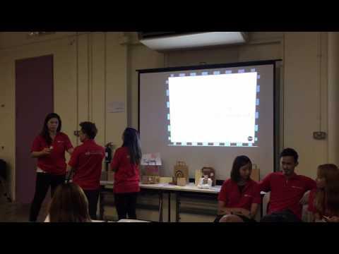 Perfume team bonding singapore