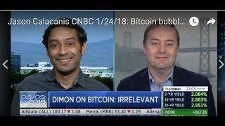 Jason Calacanis CNBC 1/24/18: Bitcoin could go 0; EU fines Qualcomm $1.2b, social media regs