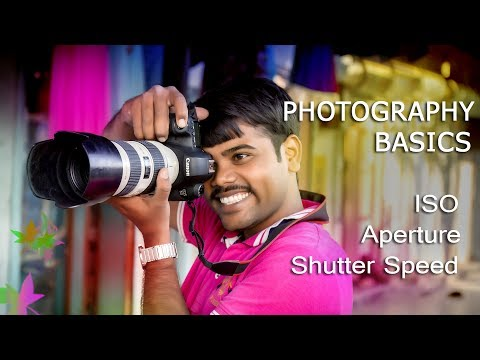 Photography Tutorial | ISO ,Aperture ,Shutter Speed |  for beginners in Hindi