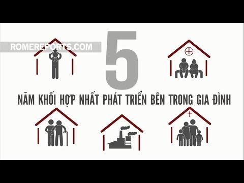 Đức Giáo Hoàng: Năm khối hợp nhất phát triển bên trong gia đình