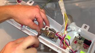 How to put a cold control in a Whirlpool Gold refrigerator. By How-to Bob