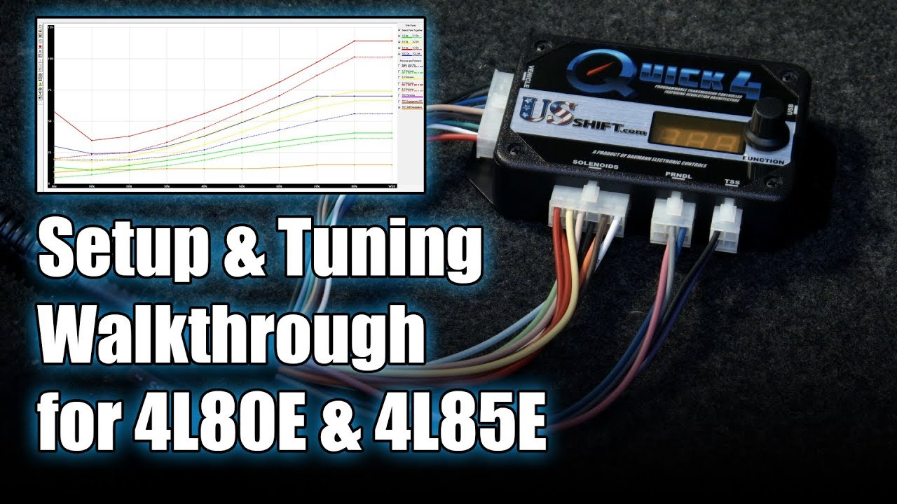 setup tuning walkthrough for gm 4l80e 4l85e transmissions quick 4 quick 2  [ 1280 x 720 Pixel ]