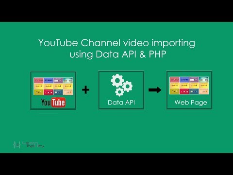 YouTube Channel video importing using Data API & PHP - Learn